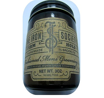 IRON SOCIETY OLD FASHIONED MENS GROOMING AID FIRM HOLD
