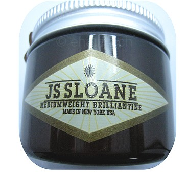 JS SLOANE MEDIUM WEIGHT BRILLIANTINE POMADE